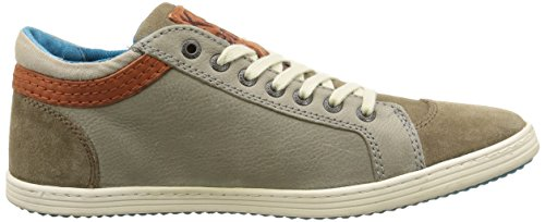 Kickers Amasarys, Baskets Basses Homme Gris (Gris Taupe)