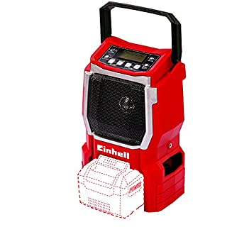 Einhell TE-CR 18 Li Solo Power X-Change Cordless Radio, Red