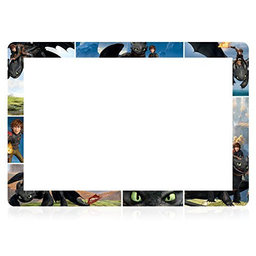 Paper FX - nabi DreamTab HD8 - How To Train Your Dragon - Toothless Frame  by Nabi