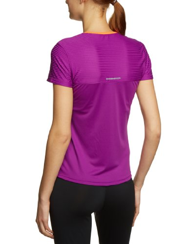 Reebok T-shirt à manches courtes pour femme ZigFuelMotio aubergine f09/vitamin c f12