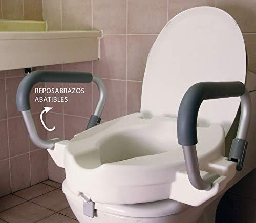 OrtoPrime Elevador WC Reposabrazos Abatibles | Altura