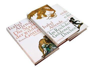 Isabel Allende: Die Abenteuer von Aguila und Jaguar im Paket (Die Stadt der wilden Götter, Im Reich des Goldenen Drachen, Im Bann der Masken) 3 Bände