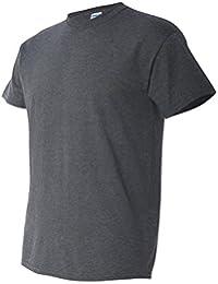 Gildan - T-shirt à manches courtes - Homme (S) (Gris)