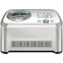 Gastroback 42909 máquina para helados - Heladora (Plata, 220 - 240 V, Hielo, Helado, Sorbete, Yoghurt)