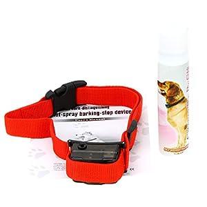 Collier Anti-Aboiement à Spray pour Chien