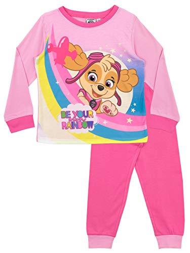 Paw Patrol Pijamas de Manga Larga para niñas La Patrulla Canina Rosa 3-4 Años
