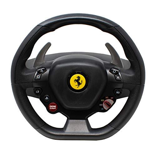 I-CHOOSE LIMITED T80 Ferrari 488 GTB Edition Set Volante e Pedale Thrustmaster per PC / PS4