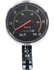 XCSOURCE® Fahrrad Wegmesser Kilometerzähler Stoppuhr Radfahren Klassik mechanisch Tachometer Uhr Wasserdicht CS341