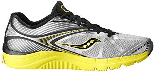 Saucony Kinvara 4Scarpe da corsa da uomo Grey/Yellow/Black