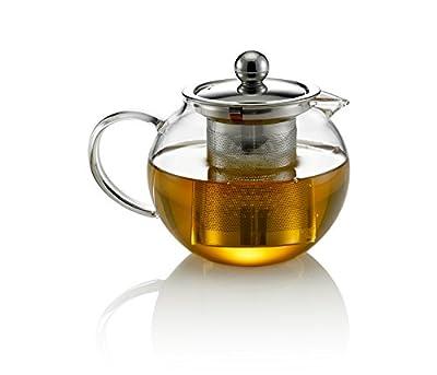 Tea Soul B6021513 Théière Rond avec Filtre Verre