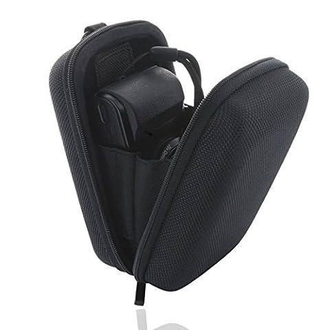 Smart-Planet® Kameratasche inkl. Handschlaufe - Hardcase für z.B. für Canon Powershot G7 G9 SX 280 600 610 Sony DSC HX90 RX100 etc. Panasonic Lumix / Casio Exilim / Nikon Coolpix usw