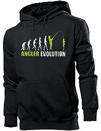 ANGELN - ANGLER EVOLUTION - Cooler Comedy Herren Kapuzenpullover S-XXL