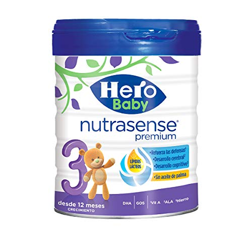 Hero Baby Nutrasense Premium 3 Leche Polvo Crecimiento