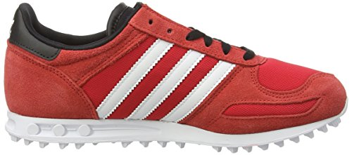 adidas LA Trainer, Sneakers Basses mixte enfant Rouge (tomato F15-st/ftwr White/tomato F15-st)
