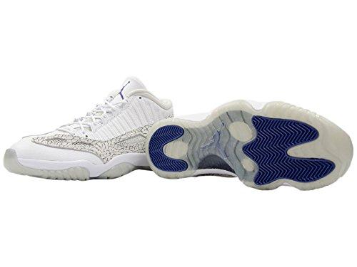 Nike  Air Jordan 11 Retro Low, Sandales pour femme Multicolore - Blanco / Gris (White / Cobalt-Zen Grey-Cmnt Gry-)