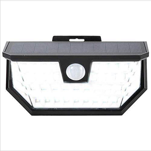 WXCCK Solarlichter Outdoor.48LED Solar-Bewegungssensor-Sicherheitslichter Wasserdichte drahtlose Lichter Solarlampen für Garten Pathway Yard Patio