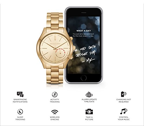 03ed076a8 Other Watches - Michael Kors Access Hybrid Gold Slim Runway ...