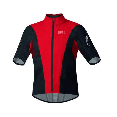 Gore Bike Wear Herren Xenon Gore-Tex Active Shell Jacke Kurz, Herren, rot / schwarz