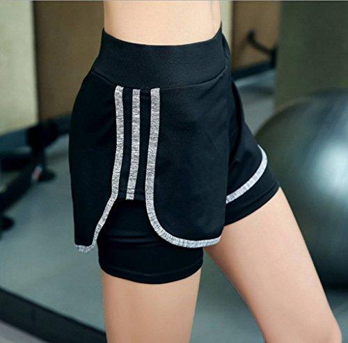 COMVIP - Leggings sportivi -  donna Grey