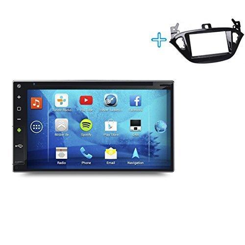 Dvd-player 2014 Auto Pioneer Für (►ICARTECH 7 Zoll Autoradio DVD Player für Opel Adam / Corsa◄ Das bärenstarke Android 4.1 Radio mit GPS Navigation✔Bluetooth✔WiFi✔Multi-Touch Display✔3G✔4G✔ Vorbereitung für: TV (DVB-T) & Digital Radio (DAB+), Dash-Cam (DVR), Apps-Erweiterung wie z.B. GooglePlay, Blitzer.de, Clever Tanken, TuneIn Radio u.v.m, inklusive Wifi Mirroring: iPhone Display Spiegelung + Airplay (ab 4S), Navigationssystem. - S730)