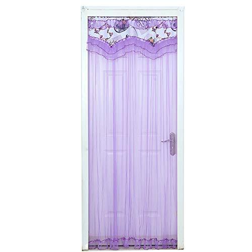 DQZLF Anti-Moskito-Vorhang Sommer weichen Garn Vorhang Vorhang Vorhang einfaches Schlafzimmer Wohnzimmer,B,90 * 200cm±2cmerror