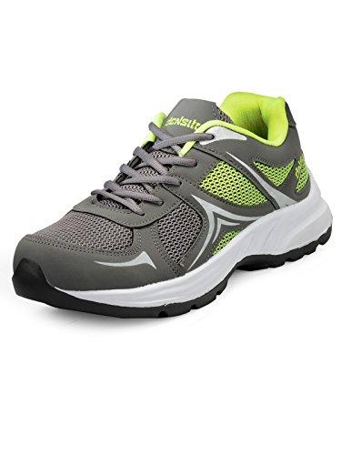 Mesha Men Balono2 Grey-P.Green Sports Shoes (8)
