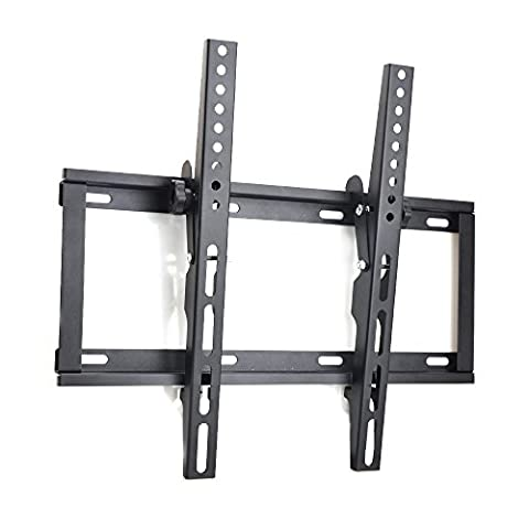 Sunyear Fixed-type Dual 15 degree Tilt Arms TV Wall Mount Bracket for Sharp Sony LG Vizio Panasonic 22 - 50 inch Plasma LED LCD OLED Flat Panel Screen