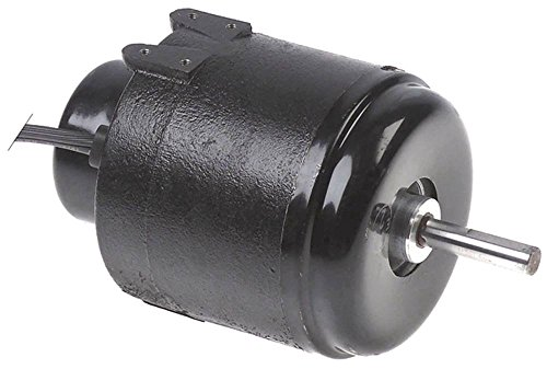 GARRETT Lüftermotor 230V 1.250 U/min 50Hz Höhe 97mm Achse ø 9x40mm Breite 95mm Kabel 1.250mm Tiefe 165mm