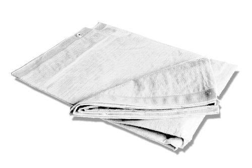 Silbor - Toldo blanco reforzado 5 x 8 m