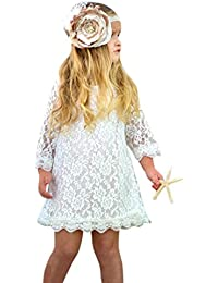 97b3d8facb3ac Amazon.co.uk: Gold - Dresses / Baby Girls 0-24m: Clothing