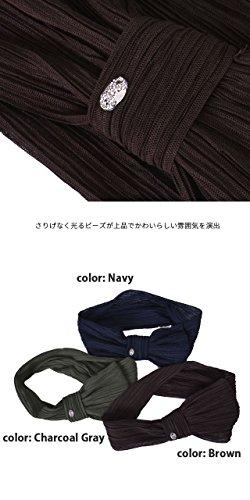 Casualbox Femmes Bandeau Cheveux Bande Emblème Ruban Japonais Conception Marine