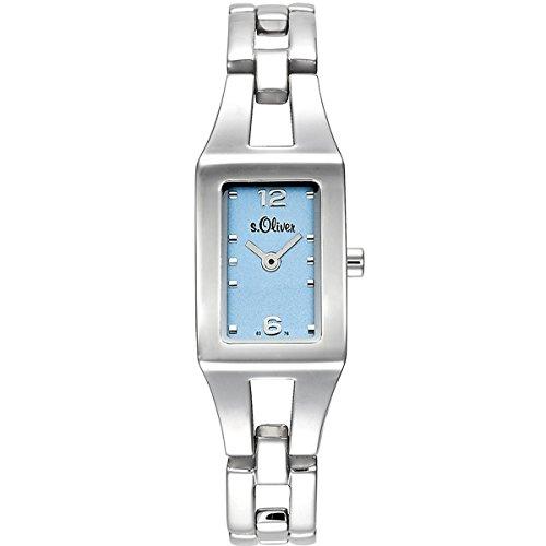 s.Oliver Damen-Armbanduhr Analog Quarz SO-15038-MQR