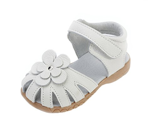 hellomiko Mode Baby Sandalen Mädchen Prinzessin Schuhe Weiche Socken Outdoor Beach Schuhe Blumen (Gladiator Mädchen Sandles)