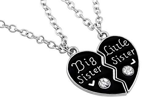 Hanessa, gioiello da ragazza, collana doppia per sorelle