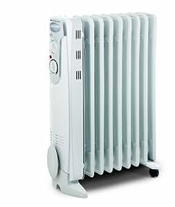 Bionaire BOH2001W-I Radiateur électrique à Bain d'Huile 2000 W Blanc