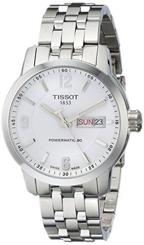 Tissot T055.430.11.017.00 - Orologio da polso da uomo, analogico, automatico, in acciaio INOX