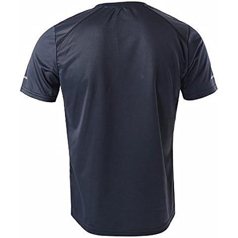 MaMaison007 ARSUXEO hombres verano correr T Camisas manga corta activa formación seca rápido Jersey deportes ropa-gris-L