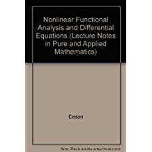 Lecture notes in pure and applied mathematics, vol.19: Nonlinear functional analysis and differential equations. Proceedings of the Michigan State University Conference