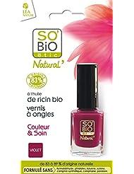 SO'BiO étic Couleur & Soin Vernis à Ongles 05 Divin Violet 10 ml