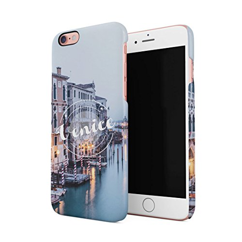 Crazy Nights In Amsterdam Smoke Weed Dünne Rückschale aus Hartplastik für iPhone 7 Plus & iPhone 8 Plus Handy Hülle Schutzhülle Slim Fit Case cover Venice