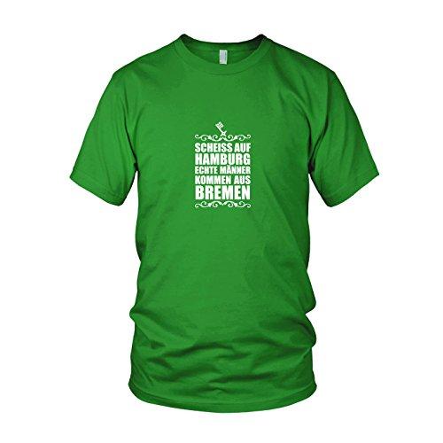 Scheiss auf Hamburg - Herren T-Shirt, Größe: L, Farbe: grün