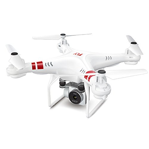 feiXIANG Drone con Telecamera Quadricottero Mini Quadcopter Professionale Selfie Parrot Droni Hover GPS Elicottero WiFi FPV RC Macchina Fotografica HD Tenuta Altezza 2.4G