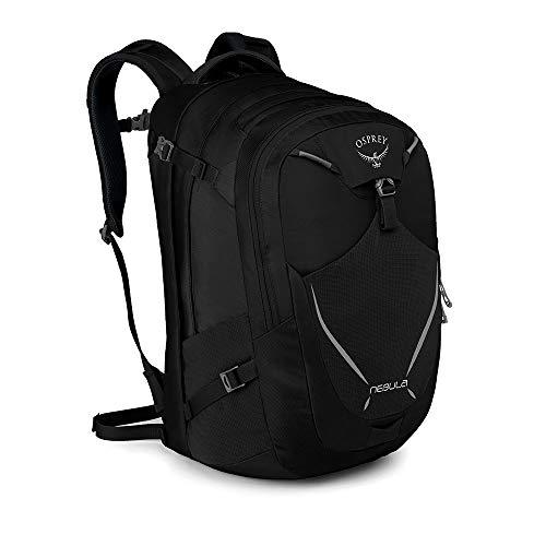 Osprey Nebula 34 Rucksack für Arbeit, Schule und Freizeit, für Männer - Black (O/S) -
