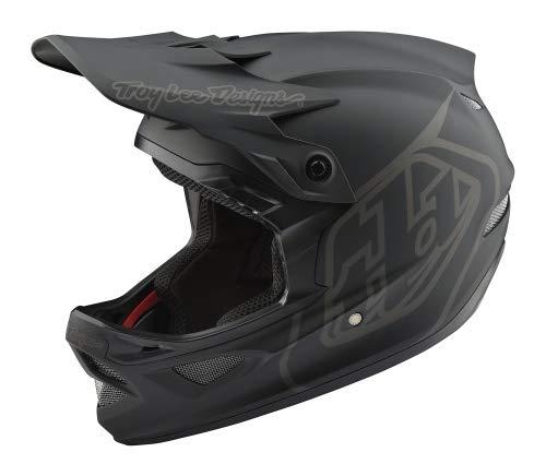 Troy Lee Designs D3 Fiberlite Helmet Mono/Black Kopfumfang L | 57-59cm 2019 Fahrradhelm