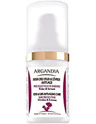 ARGANDIA Opuntia Anti-Aging-Pflege, Augen & Lippen, 15 ml