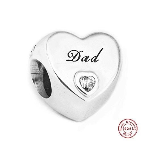MOCCI 2017 europäische Liebe Liebe Herz Perlen DIY Passt für Ursprüngliche Pandora Armbänder 925 Sterling Silber Charme Schmuck