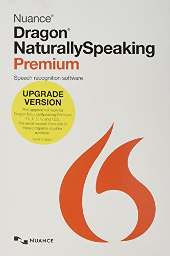 Preisvergleich Produktbild Dragon NaturallySpeaking 13 Premium Upgrade (English)