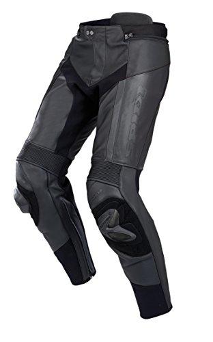 SPIDI RR PRO Pantalones de Cuero, Negro, 46