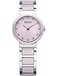 Bering Time Women's Ceramic Watch XS Analog Quartz Mixed Media 10725 – 999