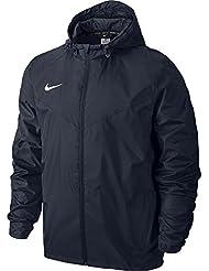 Nike TEAM SIDELINE RAIN JACKET, Giacca Sportiva Uomo, Blu Ossidiana/Bianco, M
